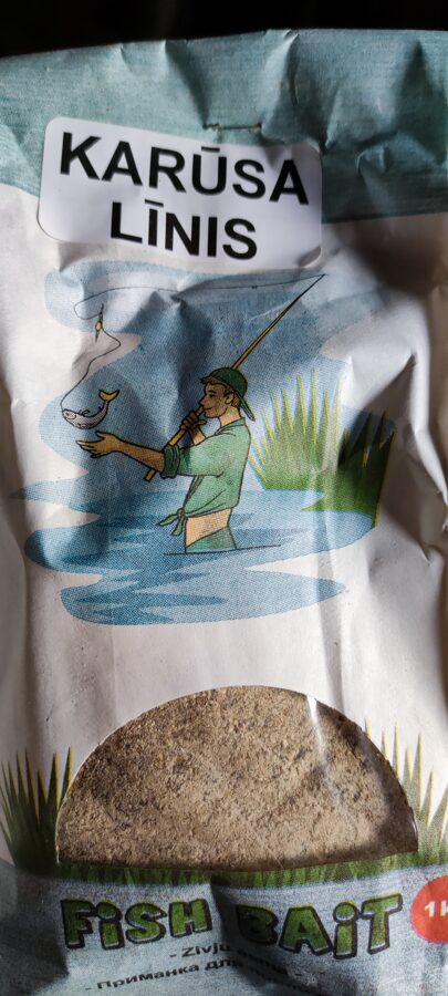 Malta barība zivīm. 4 veidi. Ground bait
