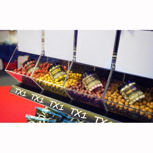 SHIMANO TX1 Pop up 15mm garšas Strawberry / tigernut / octopus / pineapple