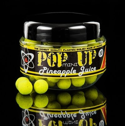 Mini Pop up boilas peldošās 10mmm 18 garšas