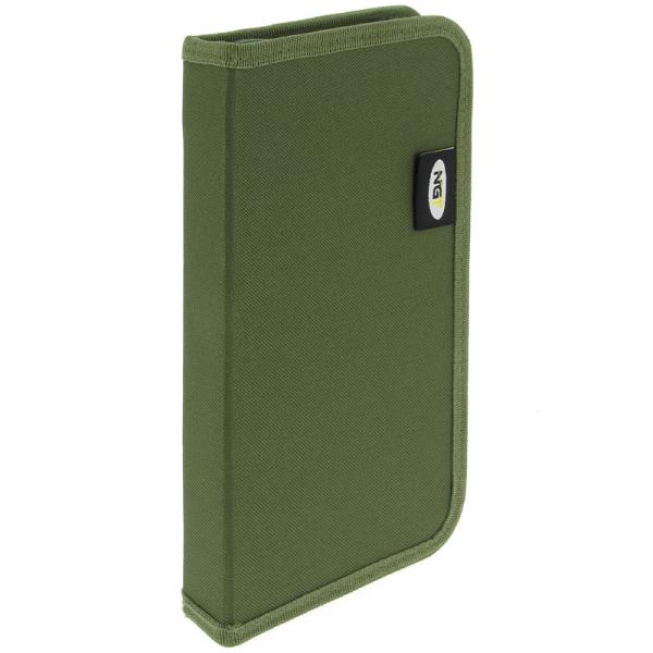 Stiff rig wallet ar spraudītēm Zaļš vai Camo