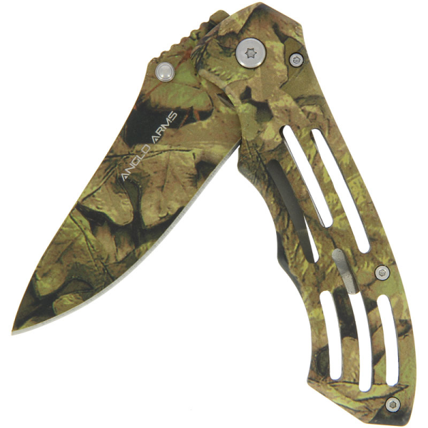 Kamuflāžas saliekamais nazis ar neilona maciņu