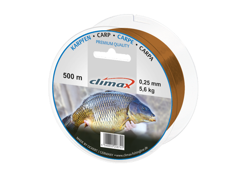 Climax Carp aukla karpām 400m 0,25mm 0,28mm 0,3mm