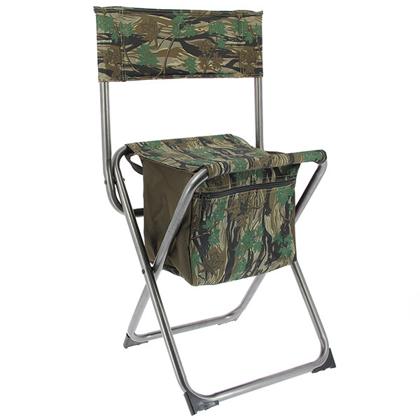 Salokāmais krēsls ar papildus nodalījumu