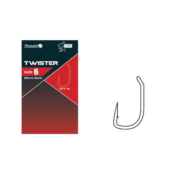 NASH Twister āķi dažādi izmēri