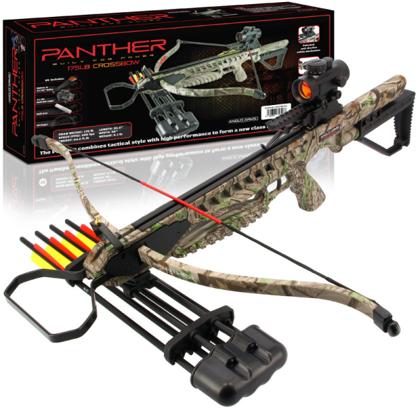 Panther arbalets Camo/Black - 80kg spēks