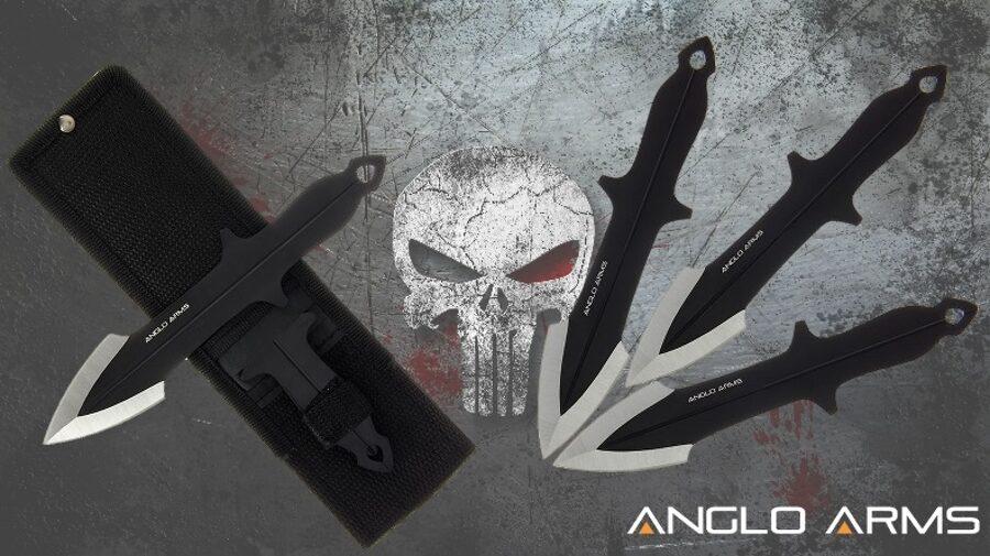 3 metamie naži Punisher