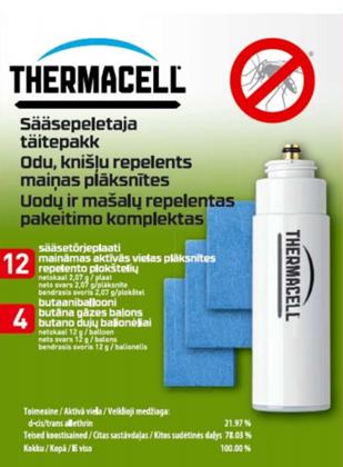 Thermacell Olive + 48H uzpildes komplekts