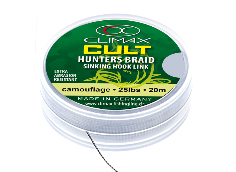 Climax Hunters Braid 25lb 30lb 45lb