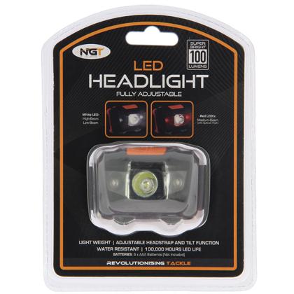 LED Galvas lampa ar balto un sarkano gaismu 100Lm