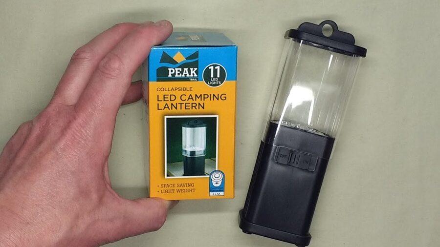 Peak trail Collapsible 11 LED light Camping Lantern