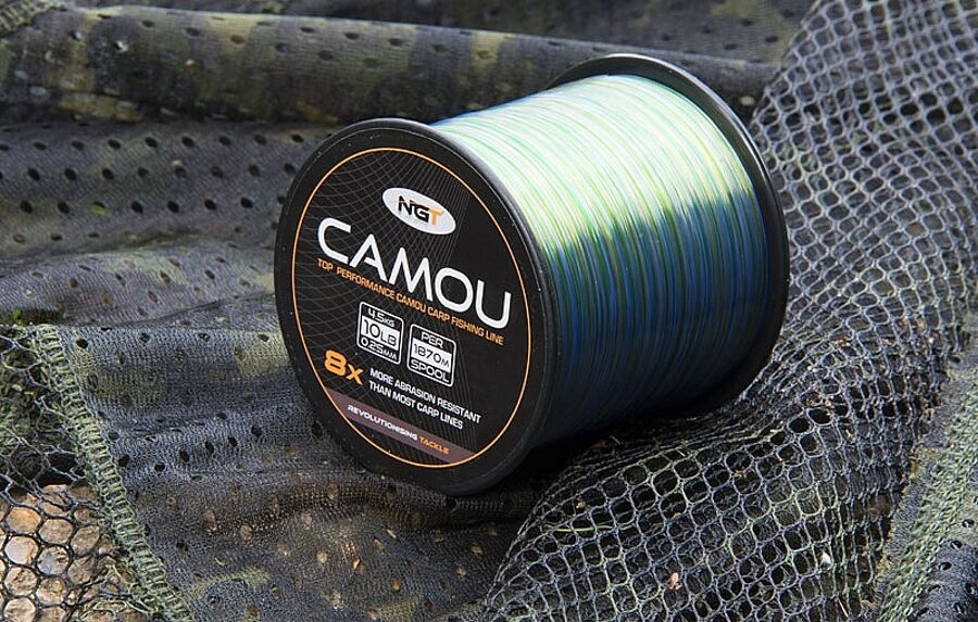 NGT Camou aukla 4 veidi