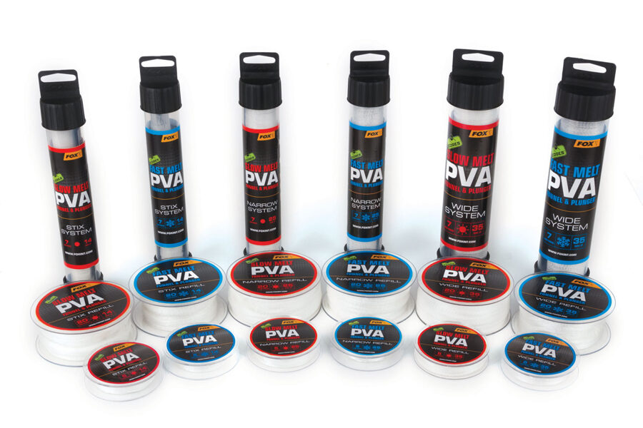Fox Ātri šķīstošie PVA, Fast melt PVA funnel&plunger STIX System