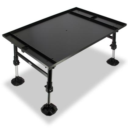 Milzu Makšķerēšanas, tūrisma galdiņš dynamic ar dubļu kājām un papildus nodalījumiem.