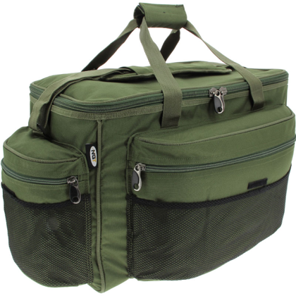 Lielā makšķerēšanas soma Camo/Zaļa