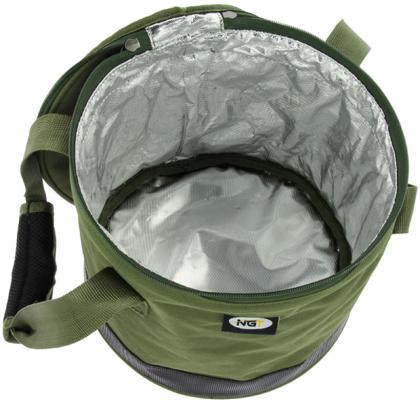 Barības uzglabāšanas soma Bait Bin Zaļa/CAMO